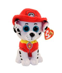 Pelucia-30-Cm---Beanie-Babies---Patrulha-Canina---Marshall---DTC