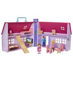 Playset-e-Mini-Figuras---Casa-de-Bonecas-da-Daisy---Imaginarium---New-Toys