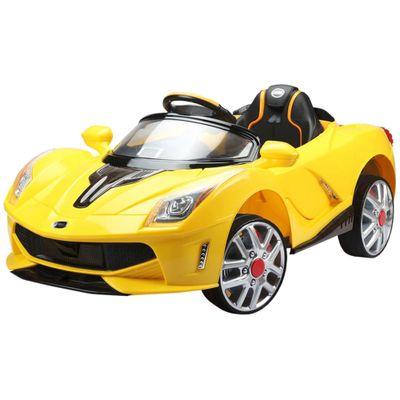 mini-veiculo-eletrico-12v-esporte-luxo-amarelo-r-c-bel-fix-Frente