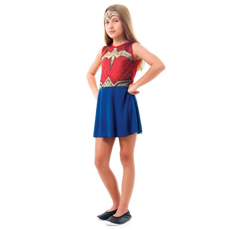 2666a235090ba1 Fantasia Infantil - DC Comics - Liga da Justiça - Mulher Maravilha -  Sulamericana