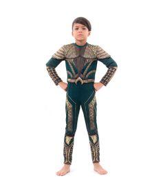 Fantasia-Infantil-de-Luxo---DC-Comics---Liga-da-Justica---Aquaman---Sulamericana