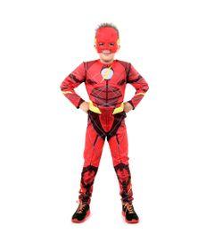 Fantasia-Infantil-de-Luxo---DC-Comics---Liga-da-Justica---The-Flash---Sulamericana