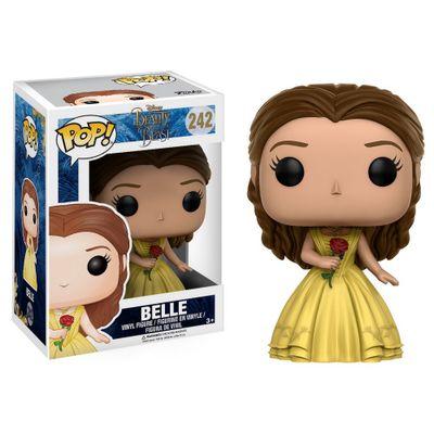 Figura-Colecionavel---Funko-POP---Disney---A-Bela-e-a-Fera-Filme---Bela---Funko