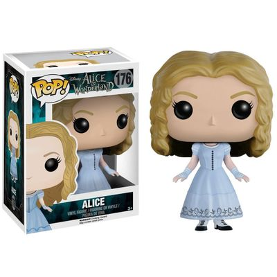 Figura-Colecionavel---Funko-POP---Disney---Alice-no-Pais-das-Maravilhas-Filme---Alice---Funko