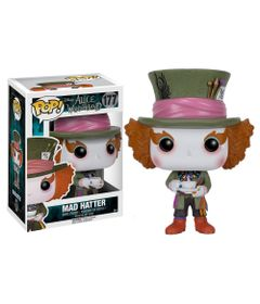 Figura-Colecionavel---Funko-POP---Disney---Alice-no-Pais-das-Maravilhas-Filme---Chapeleiro---Funko