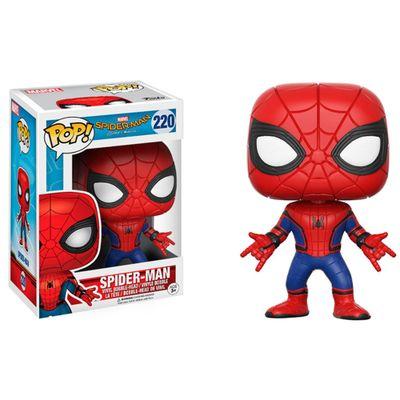 Figura-Colecionavel---Funko-POP---Disney---Marvel---Homem-Aranha-De-Volta-ao-Lar---Homem-Aranha---Funko