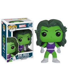 Figura-Colecionavel---Funko-POP---Disney---Marvel---She-Hulk---Funko