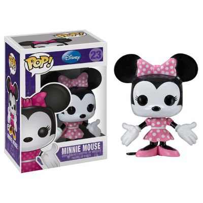 Figura-Colecionavel---Funko-POP---Disney---Minnie-Mouse---Funko