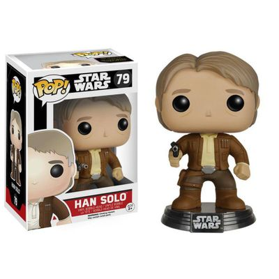 Figura-Colecionavel---Funko-POP---Disney---Star-Wars-Episodio-VII---O-Despertar-da-Forca---Han-Solo---Funko