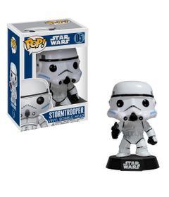 Figura-Colecionavel---Funko-POP---Disney---Star-Wars---Stormtrooper---Funko