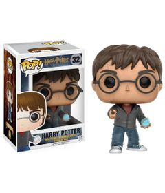 Figura-Colecionavel---Funko-POP---Harry-Potter---Harry-Potter-com-Profecia---Funko