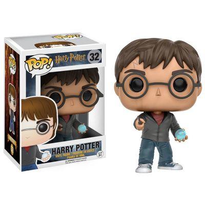 Figura-Colecionavel---Funko-POP---Harry-Potter---Harry-Potter-com-Profecia---Funko