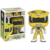Figura-Colecionavel---Funko-POP---Power-Rangers---Ranger-Amarelo---Funko