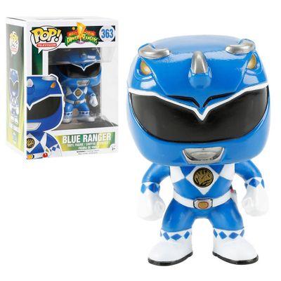 Figura-Colecionavel---Funko-POP---Power-Rangers---Ranger-Azul---Funko