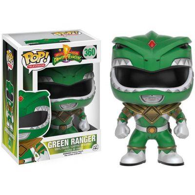 Figura-Colecionavel---Funko-POP---Power-Rangers---Ranger-Verde---Funko