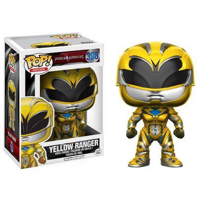 Figura-Colecionavel---Funko-POP---Saban-s-Power-Rangers---Ranger-Amarelo---Funko