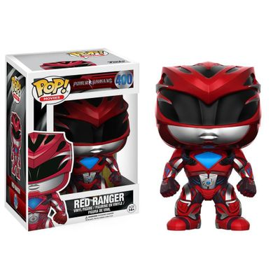 Figura-Colecionavel---Funko-POP---Saban-s-Power-Rangers---Ranger-Vermelho---Funko