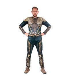 Fantasia-Adulto-Luxo---DC-Comics---Liga-da-Justica---Aquaman---GG