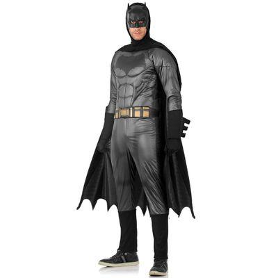 Fantasia-Adulto-Luxo---DC-Comics---Liga-da-Justica---Batman---P