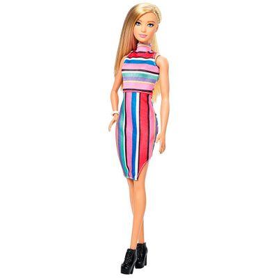 Boneca-Barbie-Fashionista---Candy-Stripes---Mattel