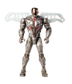 Figura-Articulada---15-Cm---DC-Comics---Liga-da-Justica---Ciborg-Super-Escudo---Mattel