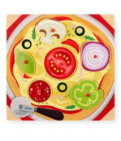 Blocos-de-Encaixe---6-Pecas---Imaginarium---Comidas---Pizza---New-Toys