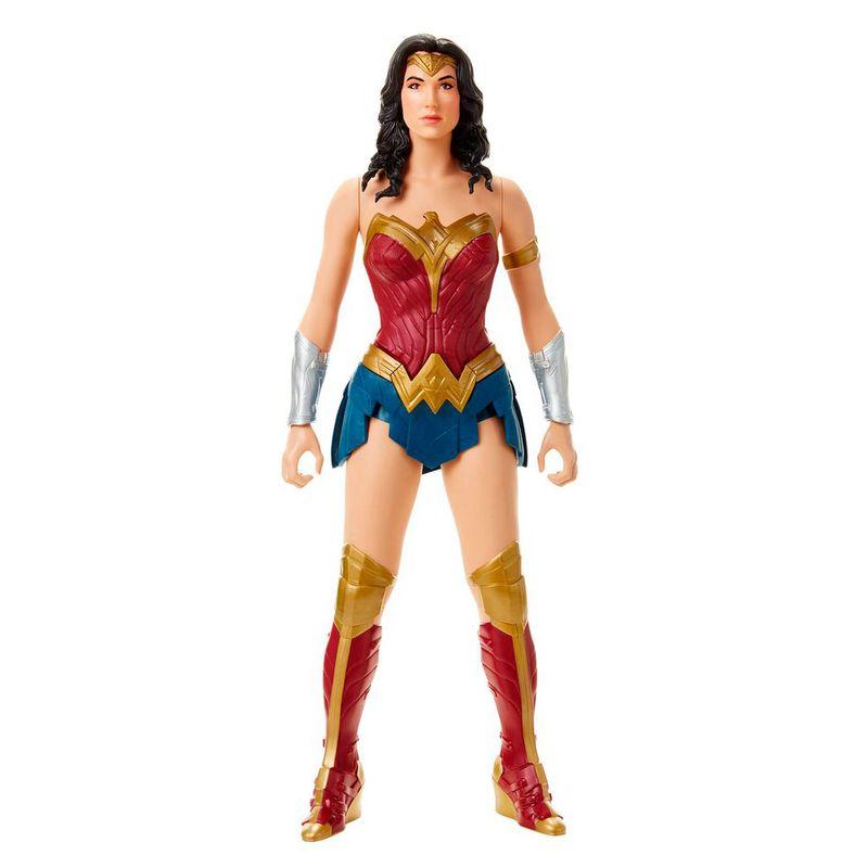 Boneco Articulado 50 Cm Dc Comics Liga Da Justiça Mulher