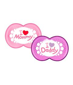Chupeta-de-Silicone---Mom---Dad---Girls---6M---MAM