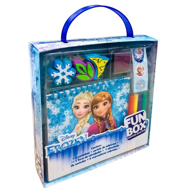 conjunto de artes disney frozen dcl editora ri happy brinquedos