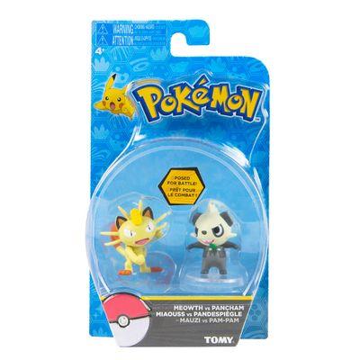 Conjunto-de-Mini-Figuras---7-Cm---Pokemon---Meowth-e-Pancham---Edimagic