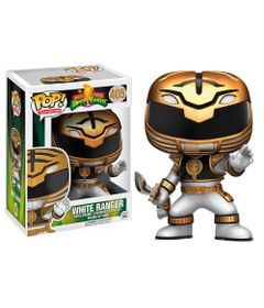 Figura-Colecionavel---Funko-POP---Power-Rangers---Ranger-Branco---Funko