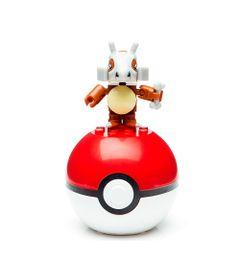 Bloco-de-Montar---Mega-Construx---Pokemon---Pokebola---Cubone---Mattel