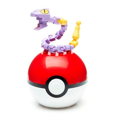 Bloco-de-Montar---Mega-Construx---Pokemon---Pokebola---Ekans---Mattel