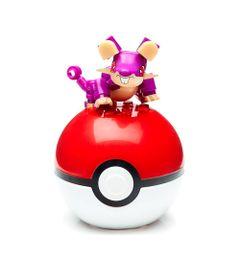 Bloco-de-Montar---Mega-Construx---Pokemon---Pokebola---Rattata---Mattel