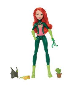 Boneca-DC-Super-Hero-Girls---Poison-Ivy-com-Equipamento-de-Batalha---Mattel
