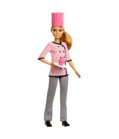 boneca-barbie-profissoes-cheff-cupcake-loira-mattel_Frente