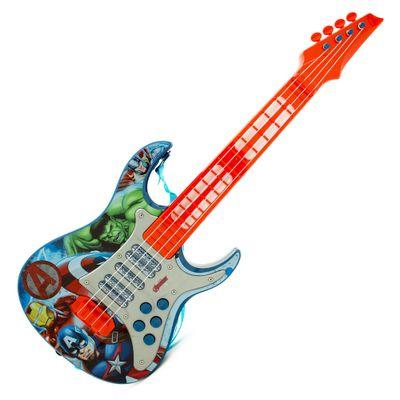 guitarra-eletrica-dc-comics-disney-vingadores-toyng-30557_Frente