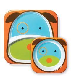 Conjunto-de-Prato-e-Tigela---Zoo---Cachorro---Skip-Hop