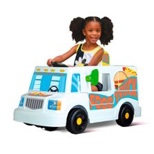 Mini-Veiculo-Eletrico---6V---Meu-Primeiro-Food-Truck---Bandeirante