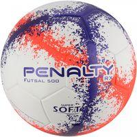 Bola-de-Futsal---RX-500-R3-VIII---Branco-Laranja-e-Roxo---Penalty---7909342306654---Frente