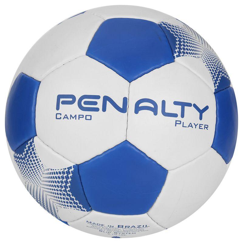 Bola de Futebol de Campo - Player VII - Branco e Azul - Penalty - Ri Happy  Brinquedos 6a540b6e983ed