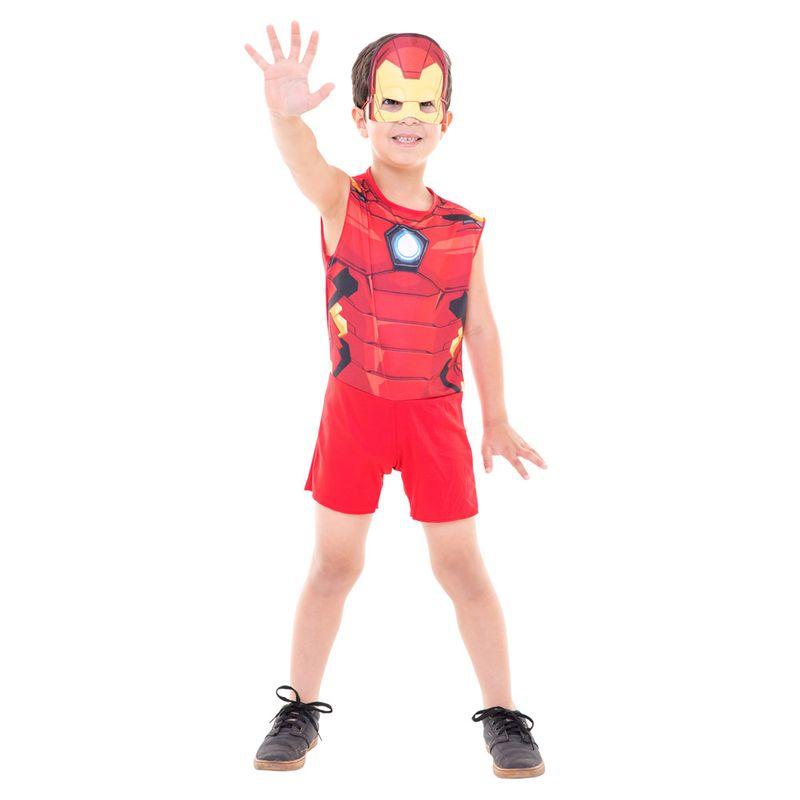 7548cc2c3c1077 Fantasia de Carnaval - Infantil - Disney - Marvel - Iron Man ...