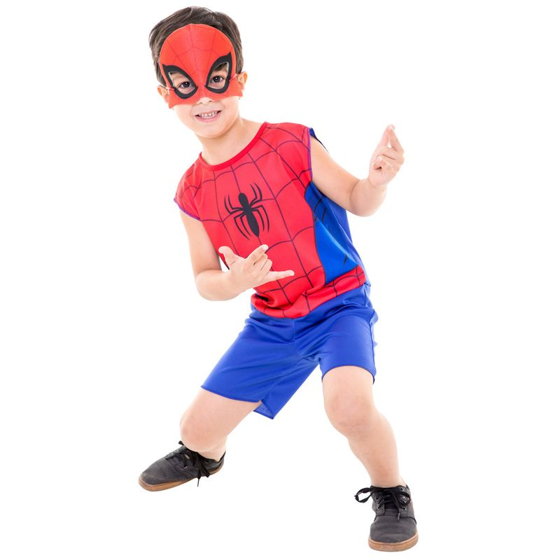 ba470fc9b6 Fantasia de Carnaval - Infantil - Disney - Marvel - Spider-Man - Global  Fantasias - Ri Happy Brinquedos