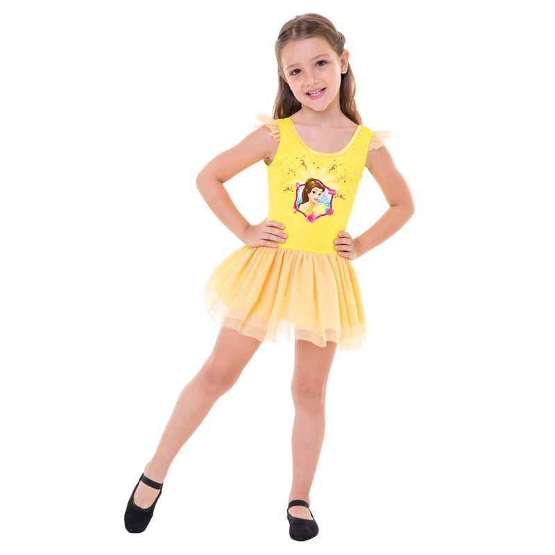 7b8a02047c85fe Fantasia de Carnaval - Infantil - Disney - Princesas - Bela - Global  Fantasias