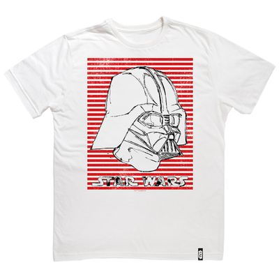 Camisa-Manga-Curta---Disney---Star-Wars---VIII---Darth-Vader---Branca---Studio-Geek---3G