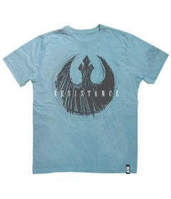 Camisa-Manga-Curta---Disney---Star-Wars---VIII---Resistence-Azul---Studio-Geek---G