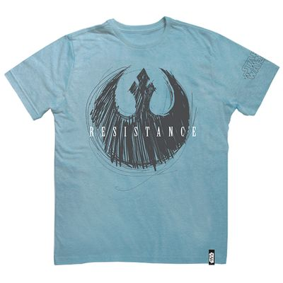 Camisa-Manga-Curta---Disney---Star-Wars---VIII---Resistence-Azul---Studio-Geek---M