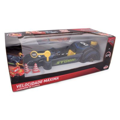 Conjunto-Lancador-e-Veiculo---Disney---Pixar---Cars-3---Jackson-Storm-Preto---Toyng