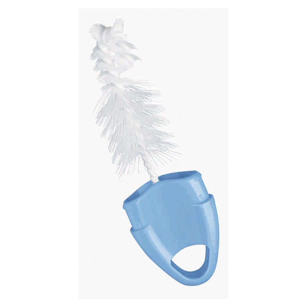 Escova para Mamadeiras - 2 em 1 - Azul - Nuk