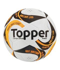 Bola-de-Futebol-de-Campo---Ultra-IX---Branco-Preto-e-Laranja---Topper